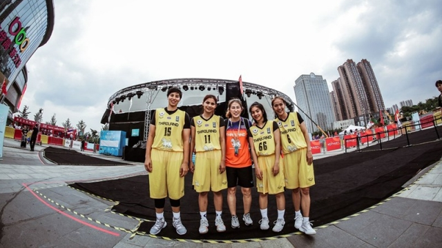 ยัดห่วงไทยเฮ! ทีมชูตสาว3×3ได้ร่วมบู๊ศึกยู-23 ชิงแชมป์โลก2020