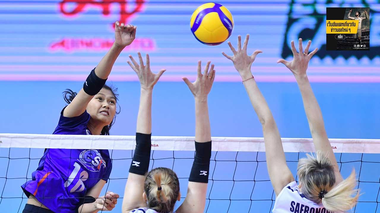 สนุกทุกหยด วอลเลย์บอลสาวไทย เข้าชิงรอบชนะเลิศ