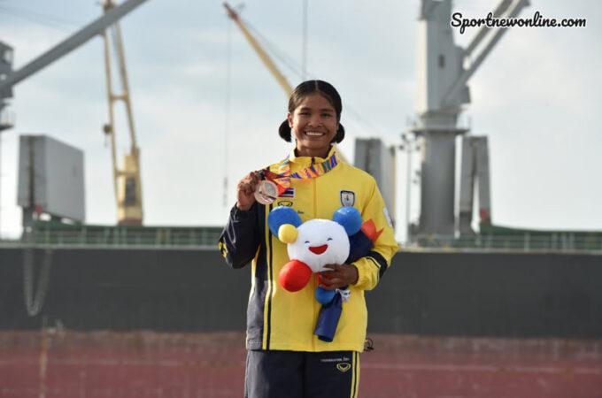 นักกีฬาแคนูไทย อรสา คว้าชัยเตรียมไปลุ้นต่อที่โอลิมปิกเกมส์ 2020
